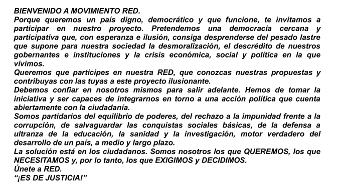 Texto-RED