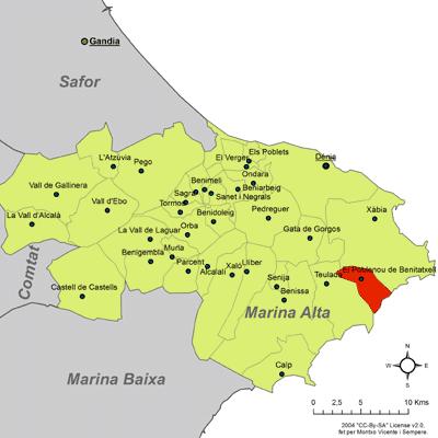 Localització_del_Poble_Nou_de_Benitatxell_respecte_de_la_Marina_Alta